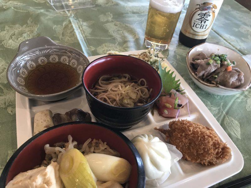 益子カントリー倶楽部お昼ごはんバイキング