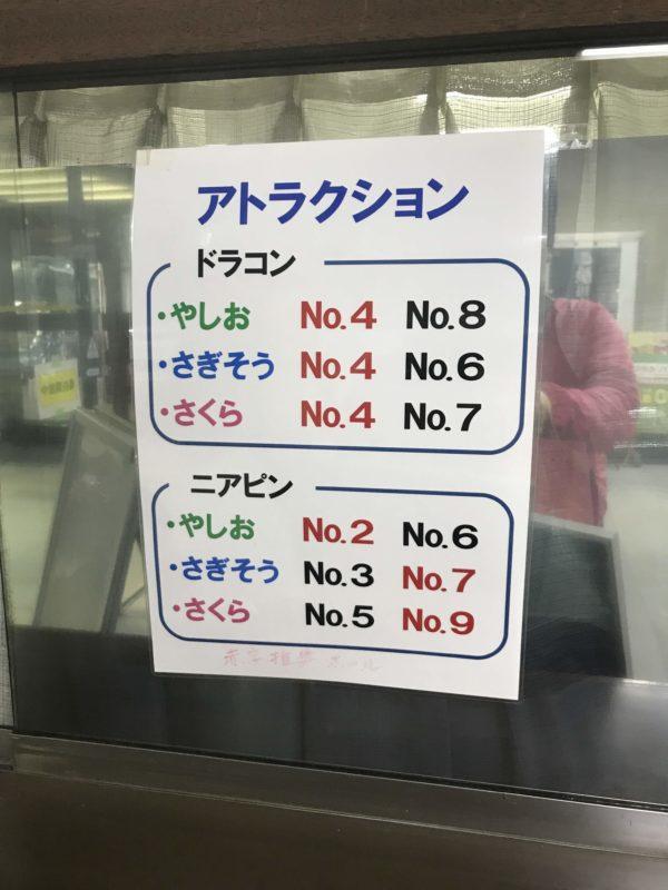 益子カントリー倶楽部ドラコンニアピン