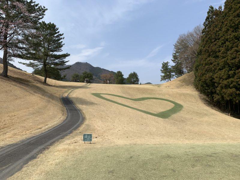足利カントリークラブ飛駒コース2番ホールパー3