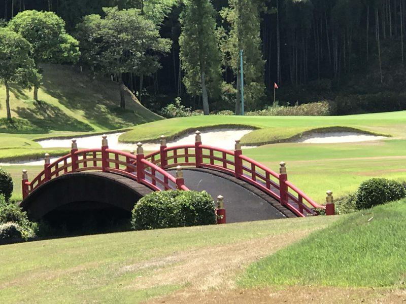 東建多度カントリークラブ名古屋の橋