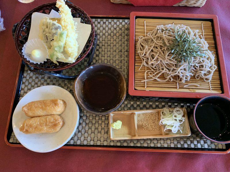 富士カントリー笠間倶楽部のお昼ご飯