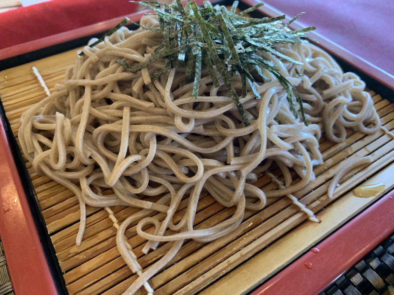富士カントリー笠間倶楽部の蕎麦