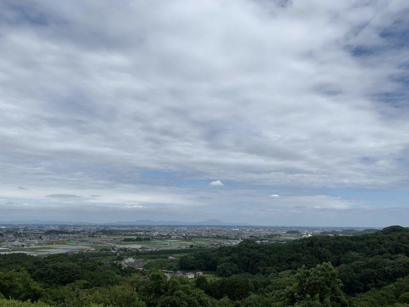 ゴールド栃木プレジデントカントリークラブの眺望