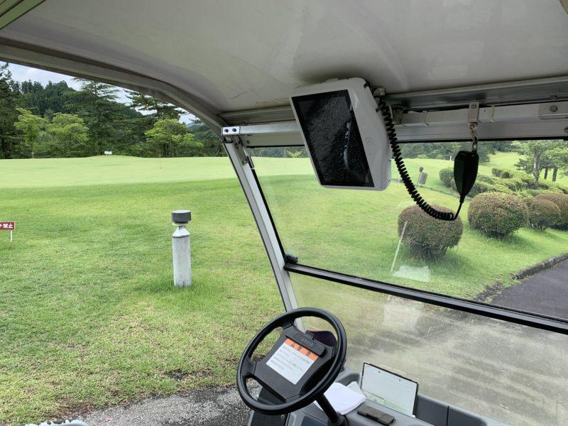 鹿沼プレミアゴルフ倶楽部GPSナビ付きカート