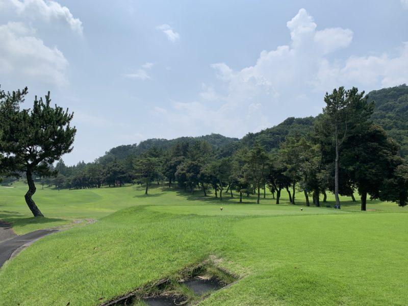 高麗川カントリークラブのグリーン