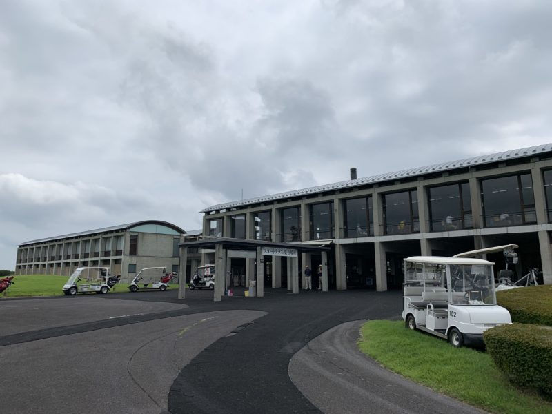 白河ゴルフ倶楽部クラブハウス