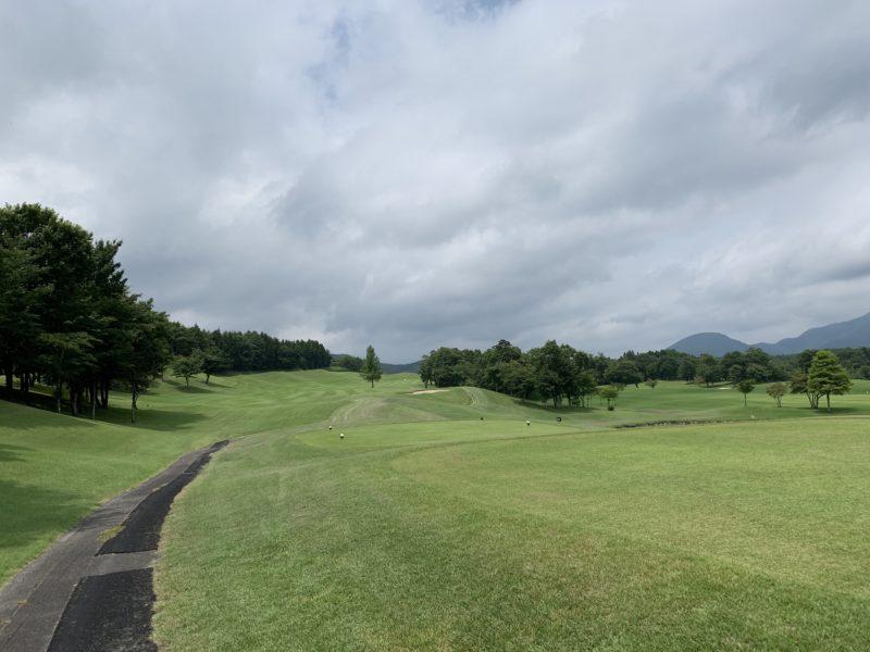 白河ゴルフ倶楽部のティーイングエリア